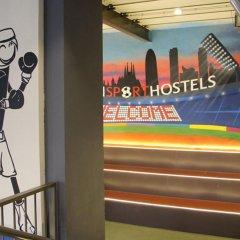 Отель Bcnsporthostels фитнесс-зал фото 3
