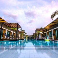 Отель Asura resort бассейн фото 3
