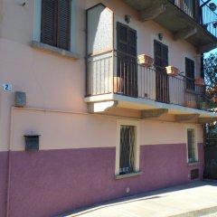 Отель I Due Galletti Azzurri Бавено балкон
