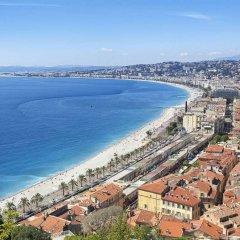 Отель Appart'City Nice Acropolis Франция, Ницца - 6 отзывов об отеле, цены и фото номеров - забронировать отель Appart'City Nice Acropolis онлайн пляж