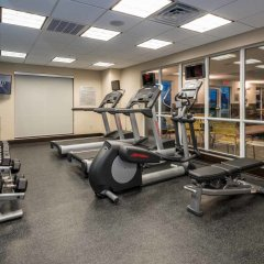 Отель Fairfield Inn & Suites Meridian фитнесс-зал