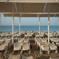 Akpalace Belek - Halal All Inclusive Турция, Белек - отзывы, цены и фото номеров - забронировать отель Akpalace Belek - Halal All Inclusive онлайн пляж фото 2