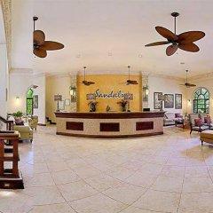 Отель Sandcastles Jamaica Beach Resort Ocho Rios интерьер отеля