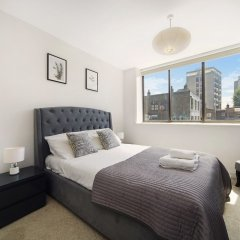 Апартаменты Cosy 2 bedroom Apartment in Central London City Stay комната для гостей фото 2