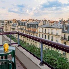 Отель Citadines Bastille Gare de Lyon Paris балкон