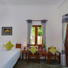Отель An Bang Rainbow Beach Homestay Хойан комната для гостей фото 5