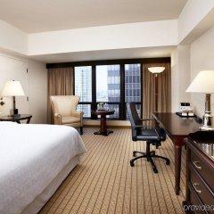 Отель Sheraton Grand Los Angeles комната для гостей