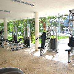 Отель Magia Beachside Condo Плая-дель-Кармен фитнесс-зал фото 3
