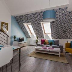 Отель Comfortable Prague Apartments Чехия, Прага - отзывы, цены и фото номеров - забронировать отель Comfortable Prague Apartments онлайн комната для гостей фото 4