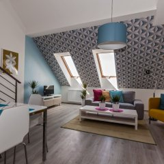 Апартаменты Comfortable Prague Apartments комната для гостей фото 4