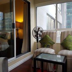 Отель in Downtown Vancouver Канада, Ванкувер - отзывы, цены и фото номеров - забронировать отель in Downtown Vancouver онлайн балкон