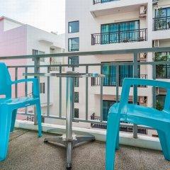 Отель The Frutta Boutique Patong Beach 3* Стандартный номер с различными типами кроватей фото 20