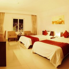 Отель Thanh Uyen Hotel Вьетнам, Хюэ - отзывы, цены и фото номеров - забронировать отель Thanh Uyen Hotel онлайн комната для гостей фото 2