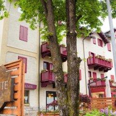 GH Hotel Piaz Долина Валь-ди-Фасса вид на фасад