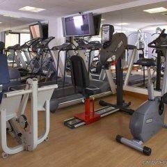 Отель Hilton Manchester Airport Манчестер фитнесс-зал фото 2