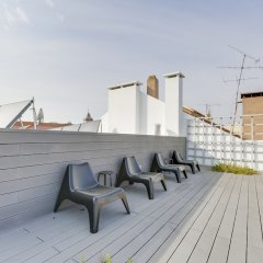 Отель Penthouse with Breathtaking Views Лиссабон балкон