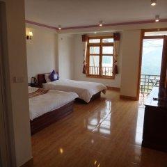 Отель Sapa Mountain City Hotel Вьетнам, Шапа - отзывы, цены и фото номеров - забронировать отель Sapa Mountain City Hotel онлайн комната для гостей фото 3