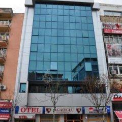 Agaoglu Otel Турция, Усак - отзывы, цены и фото номеров - забронировать отель Agaoglu Otel онлайн вид на фасад