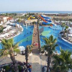 Отель Crystal Palace Luxury Resort & Spa - All Inclusive Сиде бассейн
