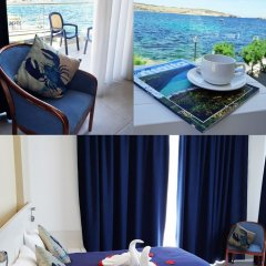 Отель Gillieru Harbour Сан-Пауль-иль-Бахар в номере