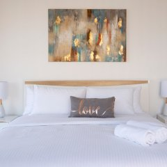 Отель Stunning 4 BDR Penthouse in Dubai Marina комната для гостей