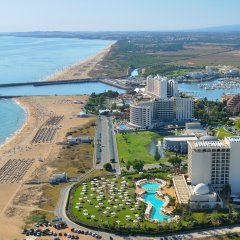 Отель Crowne Plaza Vilamoura - Algarve пляж