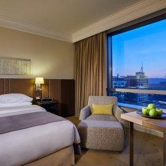 Отель Hyatt Regency Belgrade Сербия, Белград - 4 отзыва об отеле, цены и фото номеров - забронировать отель Hyatt Regency Belgrade онлайн комната для гостей фото 5