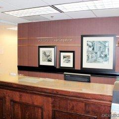 Отель Hampton Inn & Suites Springdale интерьер отеля фото 3