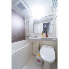 Отель Dormy Inn Tokyo-Hatchobori Natural Hot Spring ванная