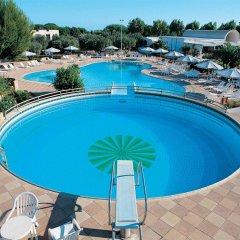 Hotel Club Le Castella Изола-ди-Капо-Риццуто бассейн