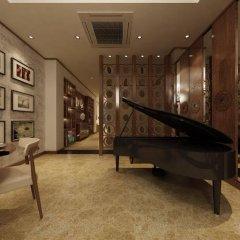 Отель Golden Lotus Hotel Вьетнам, Ханой - отзывы, цены и фото номеров - забронировать отель Golden Lotus Hotel онлайн интерьер отеля фото 2