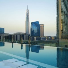 Отель Sofitel Dubai Downtown бассейн фото 2