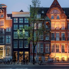 Отель Ink Amsterdam Амстердам вид на фасад