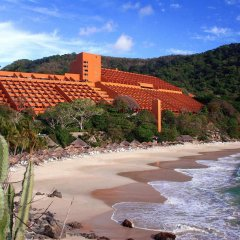 Отель Las Brisas Ixtapa пляж фото 2