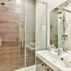 Отель 07- Best Flat of Grand Boulevard Франция, Париж - отзывы, цены и фото номеров - забронировать отель 07- Best Flat of Grand Boulevard онлайн ванная