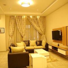 Отель Kiniz Luxury Apartments Нигерия, Уйо - отзывы, цены и фото номеров - забронировать отель Kiniz Luxury Apartments онлайн комната для гостей фото 5