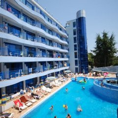 Отель Aphrodite Hotel Болгария, Золотые пески - отзывы, цены и фото номеров - забронировать отель Aphrodite Hotel онлайн бассейн фото 2