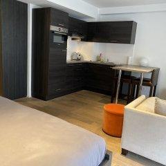 Отель Flat Brugmann Бельгия, Брюссель - отзывы, цены и фото номеров - забронировать отель Flat Brugmann онлайн комната для гостей фото 4