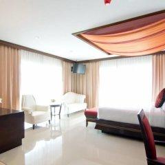 Отель Welcome World Beach Resort & Spa Таиланд, Паттайя - отзывы, цены и фото номеров - забронировать отель Welcome World Beach Resort & Spa онлайн комната для гостей фото 6
