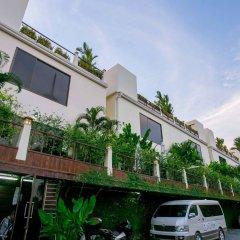 Palm Oasis Boutique Hotel парковка