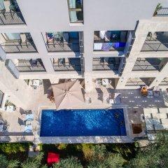 Отель Eleven Черногория, Петровац - отзывы, цены и фото номеров - забронировать отель Eleven онлайн бассейн фото 2