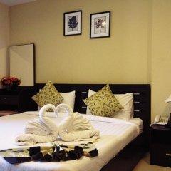 Апартаменты Purita Serviced Apartment Бангкок комната для гостей фото 2