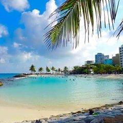Отель Marble Hotel Мальдивы, Северный атолл Мале - отзывы, цены и фото номеров - забронировать отель Marble Hotel онлайн пляж фото 2