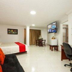 Hotel La Luna комната для гостей фото 3