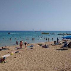 Отель Trizas Hotel Apartments Кипр, Протарас - отзывы, цены и фото номеров - забронировать отель Trizas Hotel Apartments онлайн пляж фото 2