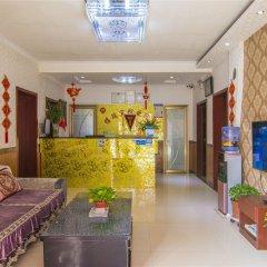 Отель Furui Hotel Xianyang Airport Китай, Сяньян - отзывы, цены и фото номеров - забронировать отель Furui Hotel Xianyang Airport онлайн интерьер отеля