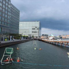 Отель Cabinn City Дания, Копенгаген - 5 отзывов об отеле, цены и фото номеров - забронировать отель Cabinn City онлайн приотельная территория
