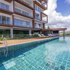 Отель Q Conzept Condominium бассейн