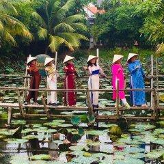 Отель Phu Thinh Boutique Resort And Spa Хойан приотельная территория