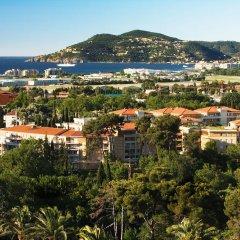 Отель Residence les Agapanthes пляж